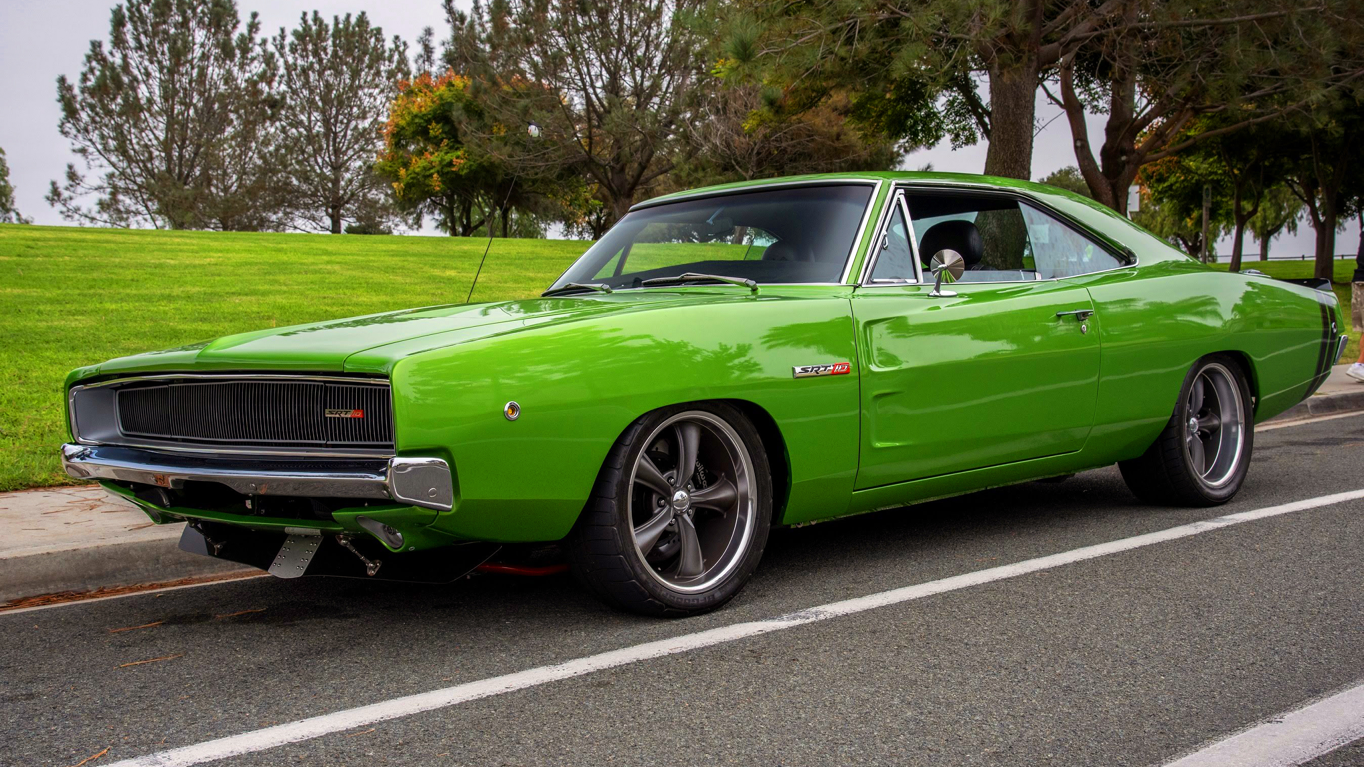 This Viper V10 Powered 1968 Dodge Charger Srt10 Is Simply