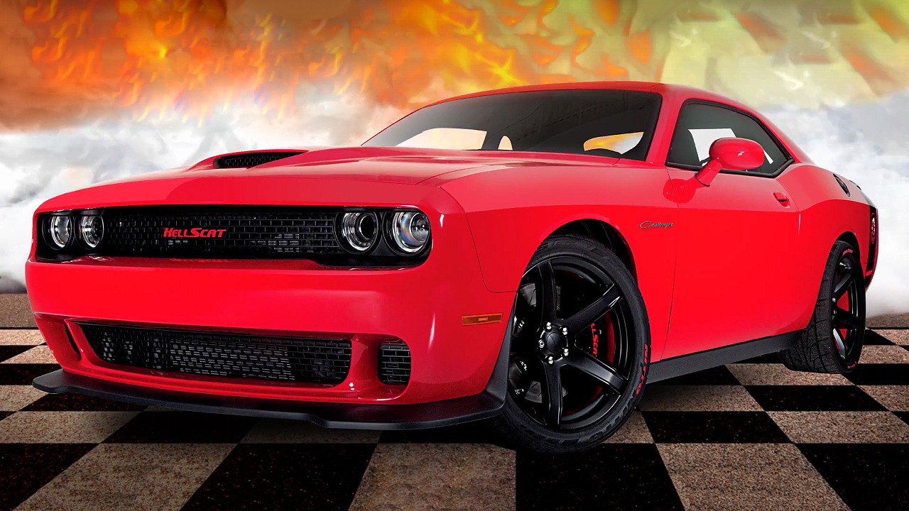 Win This 1000 Horsepower One and Only 2017 Challenger HellScat