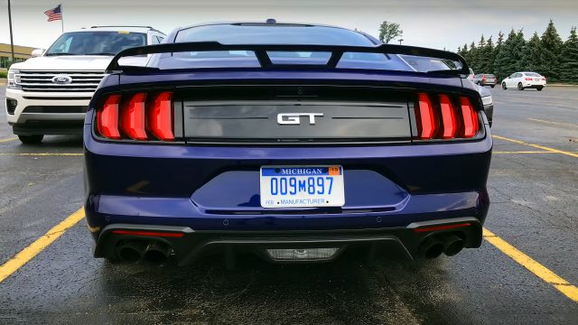 The New 2018 Ford Mustang GT in Details - Back