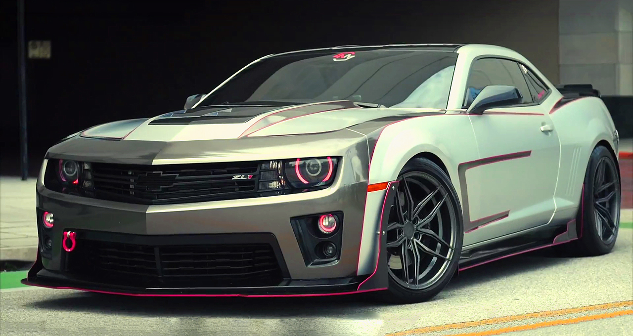 mindblowing amp modified 2015 chevrolet camaro zl1