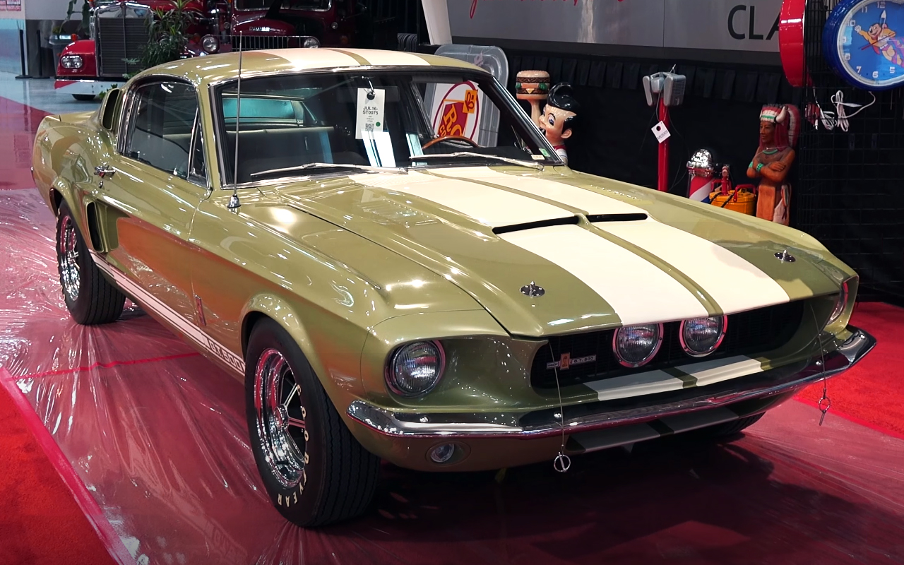 1967 Shelby Mustang GT500 Fastback - The Finest Pony Muscle Car!