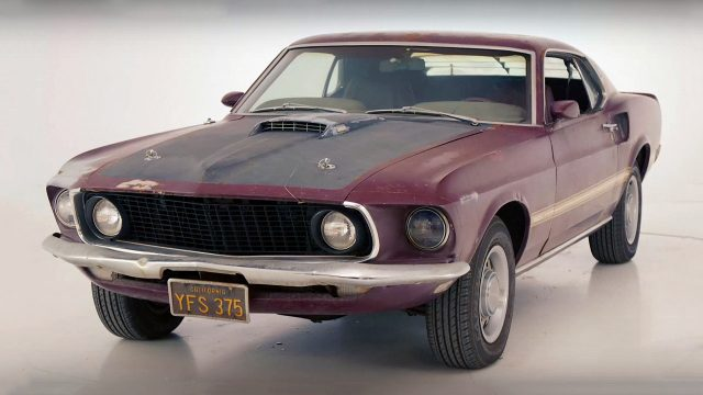 Awesome Sidchrome 1969 Ford Mustang Mach 1 Pro Touring