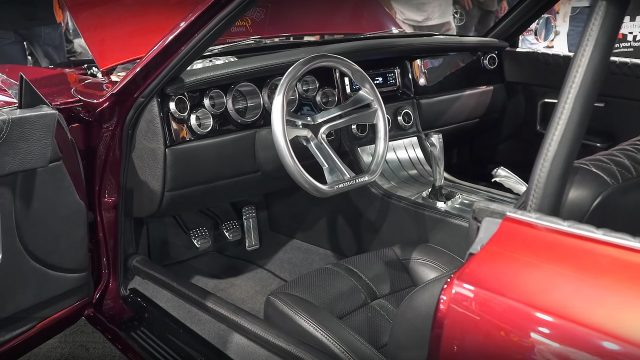 1968 Dodge Charger RTR by Johan Eriksson Interior