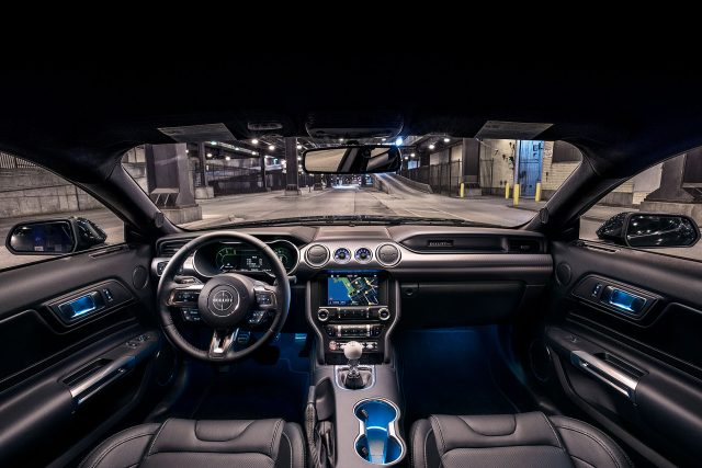 The New 2019 Ford Mustang Bullitt Interior