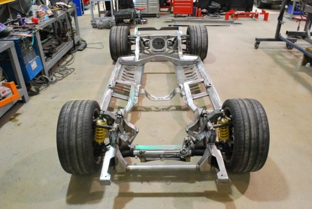 1966 Chevy Chevelle Roadster Shop Fast Track chassis