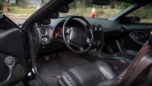 2002 Pontiac Trans Am WS6 Interior