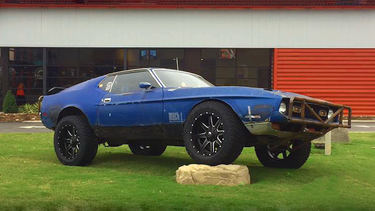 Check The Story Behind This Zombie Apocalypse Mach 1 Mustang