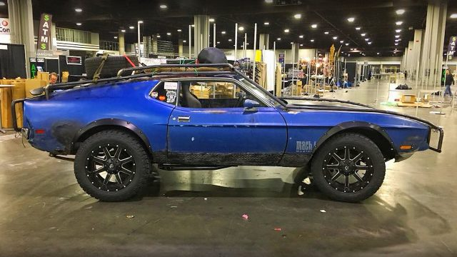 Zombie Apocalypse Mach 1 Mustang