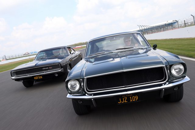 1968 Ford Mustang GT Fastback and 1968 Dodge Charger R/T 440.