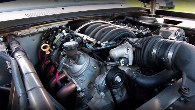 1973 Plymouth Duster #ProjectRecycled LS2 Engine