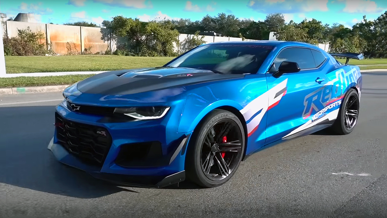 Fastest Car In The World 2017 >> 1300 Horsepower Redline Motorsports Camaro ZLR 1LE Phase 5R