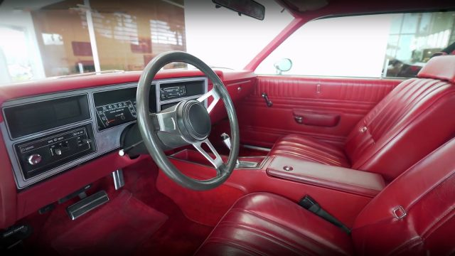 1978 Dodge Aspen Street Kit Car interior