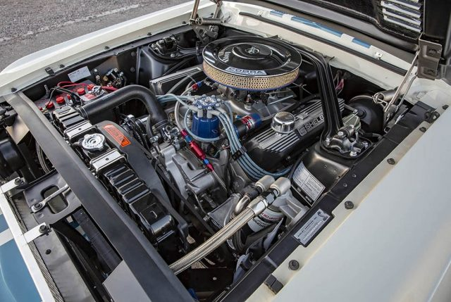 1967 Shelby GT500 Super Snake 427 engine