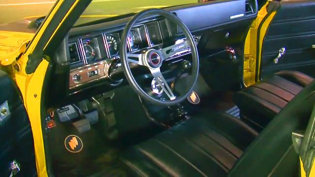 1970 Buick GSX 455 Stage 1 Interior