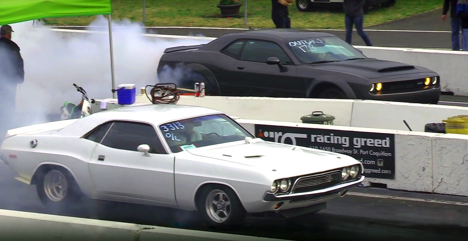 The Legend VS Dodge SRT Demon - 1/4 Mile Drag Race!