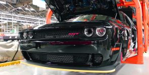 Production of the Last 2018 Dodge SRT Demon Challenger