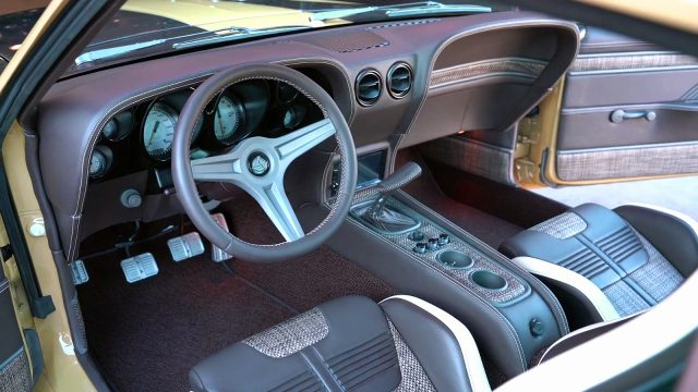 1970 Ford Mustang Boss 302 by Speedkore interior