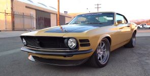 Iron Man's Custom 1970 Ford Mustang Boss 302 by Speedkore