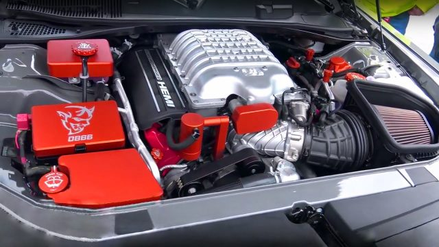 SRT MUSH's Dodge Demon engine