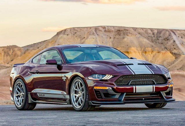 2018 Shelby Super Snake front