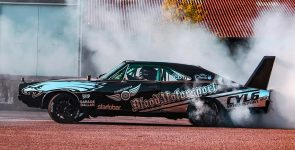 1968 Dodge Charger – Drifting at the Old Factory [VIDEO]