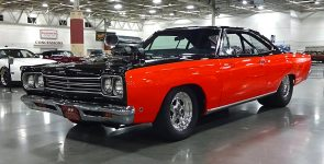 "Two-Tone 1968 Plymouth Road Runner ""Old Runner"" Street Machine"