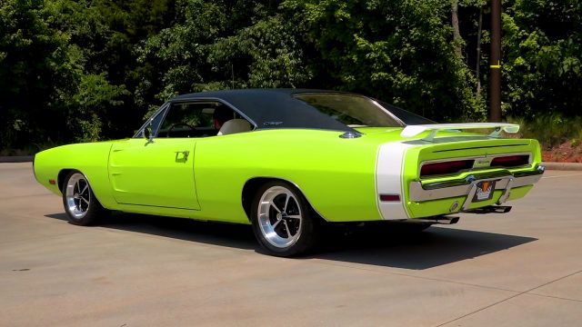 1970 Dodge Charger back