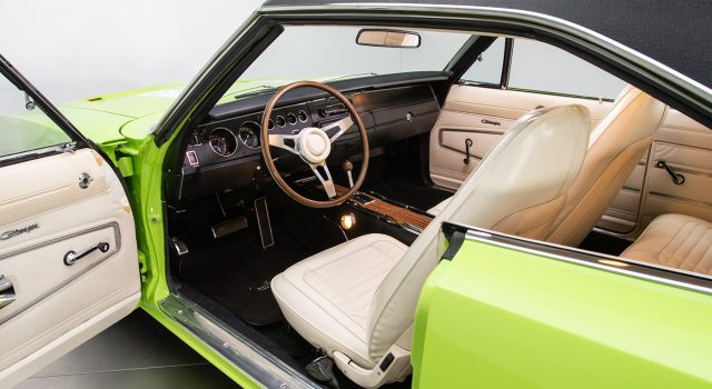 1970 Dodge Charger interior