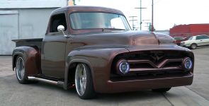 Half a Million Dollar 1955 Ford F100 Pickup Truck