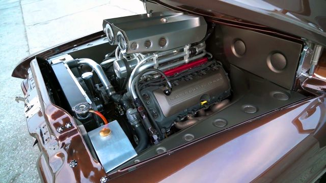 1955 Ford F100 Pickup Truck Engine