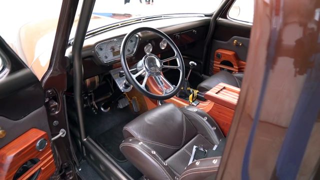 1955 Ford F100 Pickup Truck Interior