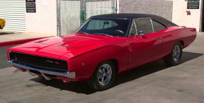 Gorgeous Chilli Red 1968 Dodge Charger RT Torque Monster