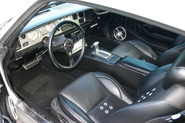 LS Powered 1979 Pontiac Trans Am Interior