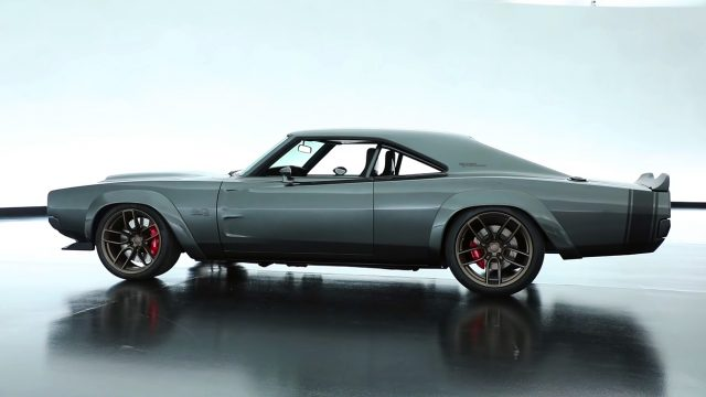 1968 Super Charger with 1000 horsepower 426 HEMI Engine side