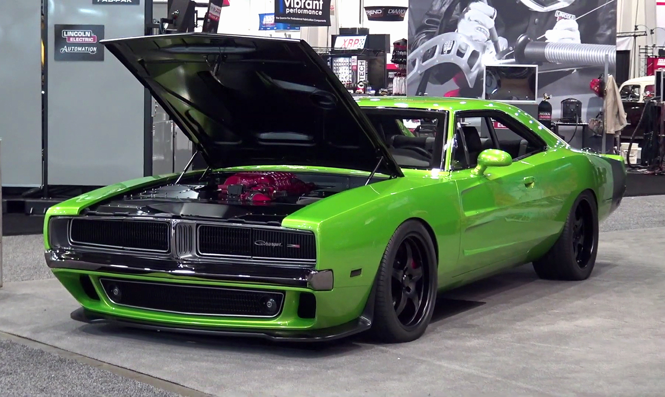 badass reverence  hellcat charger  details