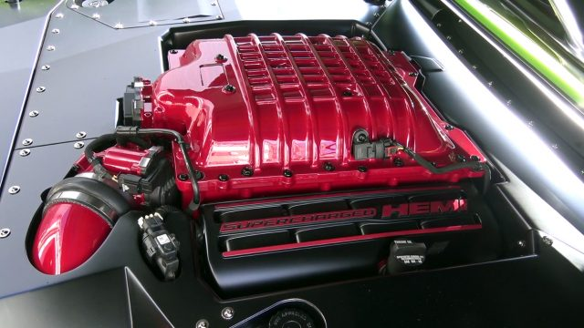 Reverence 1969 Hellcat Charger Engine
