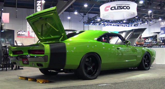 Reverence 1969 Hellcat Charger Rear