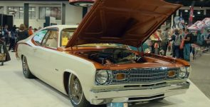 Sick Hellcat Powered 1974 Plymouth Duster with Dramatic History