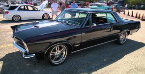 Mighty 1965 Pontiac GTO Restomod