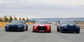 Who's the Boss? Challenger RedEye vs Camaro ZL1 vs Mustang GT500
