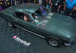 A few months ago we have made an article about the original Steve McQueen's Bullitt Mustang, and how he came back from the dark ages. At that time Hagerty has confirmed his authenticity and has estimated his value between $3 million to $5 million. However, now it came back at the Mecum auction house. Yes, it was for a sale at Mecum Kissimmee 2020, and believed or not it was sold for a record $3.74 million dollars. This Steve McQueen's Bullitt Mustang is one of the most highly valued classic muscle cars ever and in general classic Ford model. As an example, in 2014 at Mecum Auction 1971 Plymouth Hemi Cuda Convertible achieved the price of 3.5 million dollars which became the most valued Mopar ever.