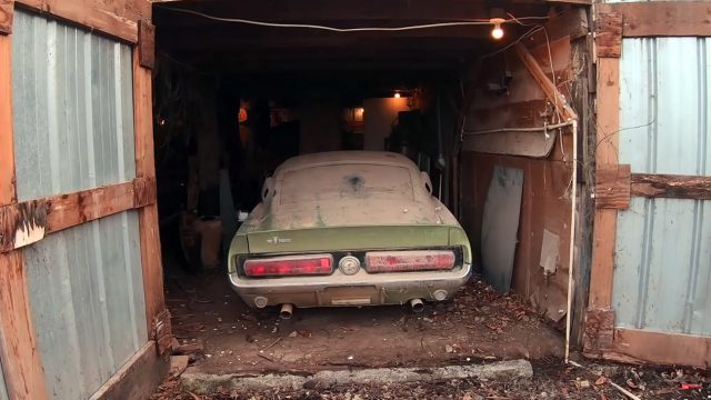 1967 Shelby GT500 Barn Find