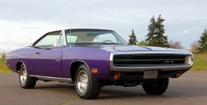 Elegant & Powerful Plum Crazy 1970 Dodge Charger R/T 440 Six Pack