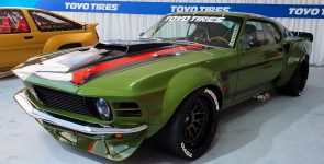 Hardcore 1970 Ford Mustang Boss 427 Racecar by Ruffian Cars