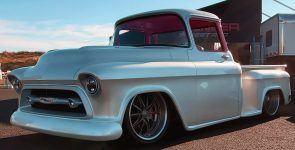Top-Notch classic 1957 Chevy Pickup Truck aka 'Snow White'
