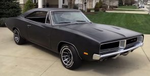 Awesome Stealth Looking 1969 Dodge Charger RT