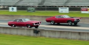 Blast From The Past - 1970 Ford Torino 429 vs 1969 Chevrolet Camaro 396