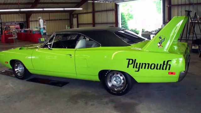 1970 Plymouth Road Runner Superbird Side
