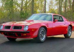 1974 Pontiac Firebird Trans Am 455 Super Duty