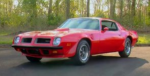 1974 Pontiac Firebird Trans Am 455 Super Duty The Last Classic Muscle Car
